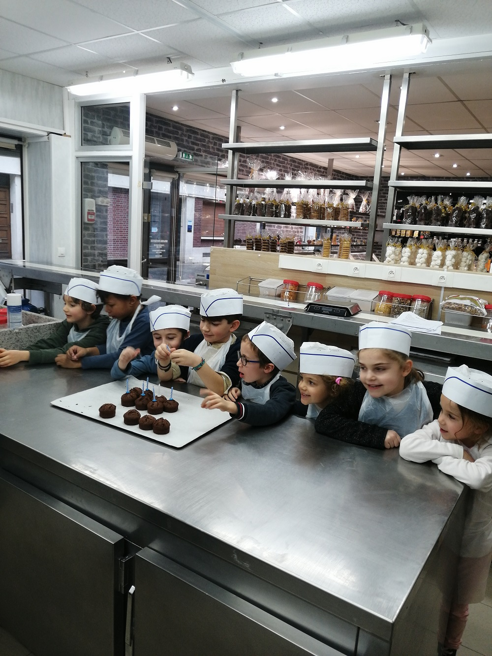 ateliers de fabrication chocolat Amiens