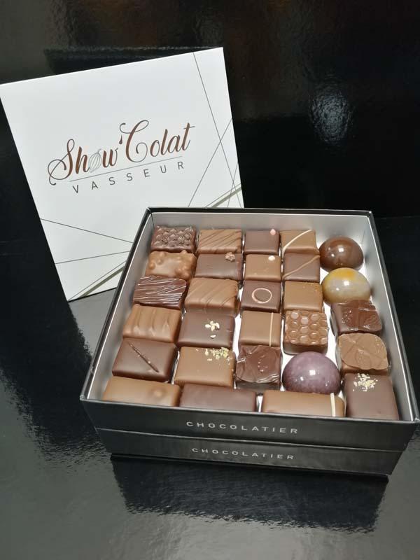 Chocolat fin - Boîte 2 étages (460g)